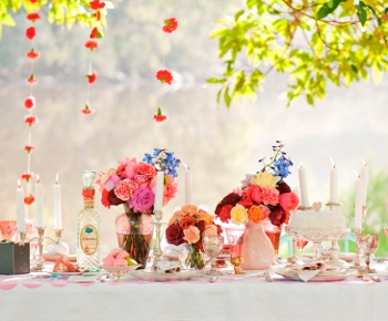 Vintage wedding table